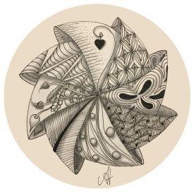 Zentangle workshops Zendala