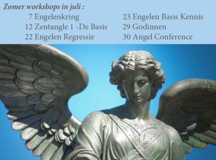 2017 Zomer workshops in juli bij Engelencursus