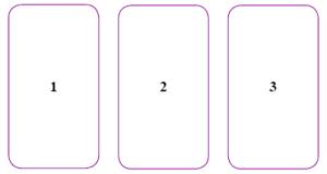 Engelen orakel of Tarot kaarten maandlegging
