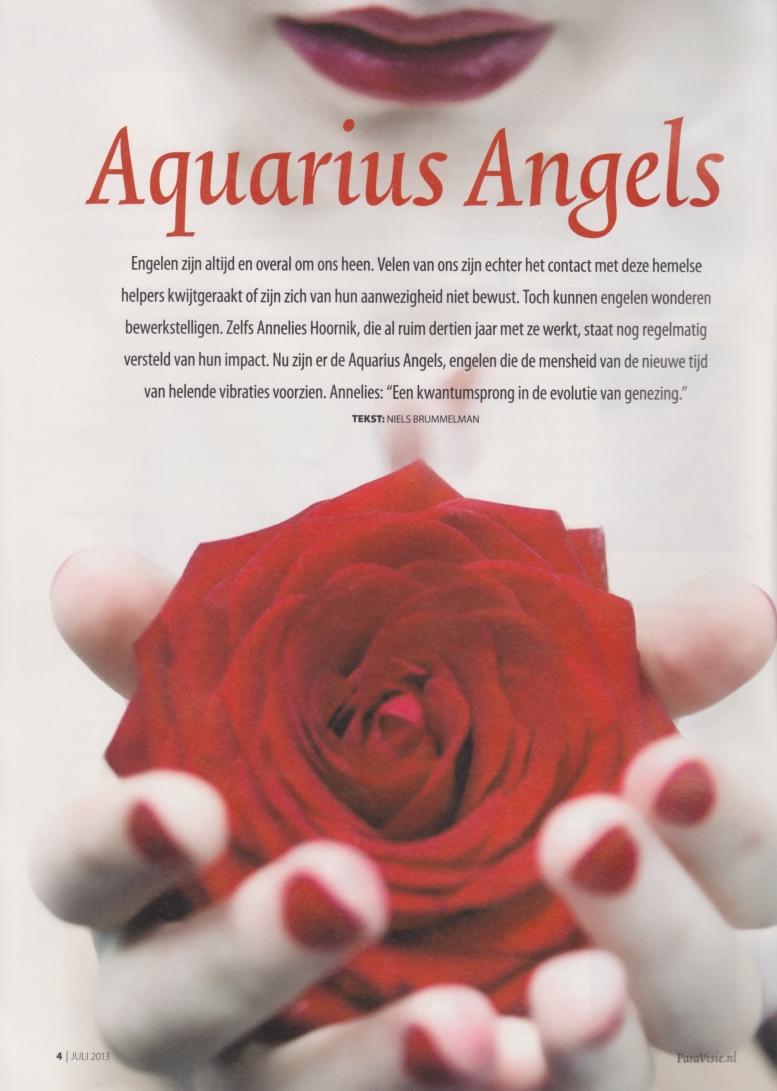 Paravisie 2013 Annelies Hoornik Aquarius Angels