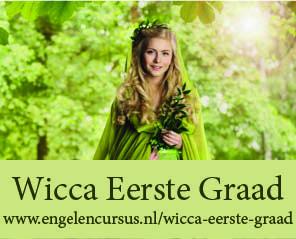 Wicca eerste graad - jaargang e-cursus bij Engelencursus thuisstudie