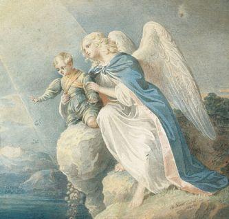 Beschermengelen, engelen uit de derde Triade